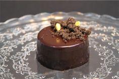 CITRIC IDIVIDUAL CAKE with chocolate #citric #chocolate