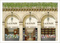 Librairie Galignani, Paris - the first English bookshop in Europe