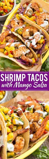 Shrimp Tacos With Mango Salsa-Kitchen recipes, Food community, and home food, search our unique of cooking tips and Ingredients