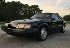 1985.5 Ford Mustang SVO 5-Speed