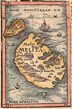 MALTA || Michael Jennings Antique Maps and Prints