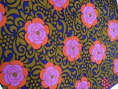 Aini Vaari Finlayson Forssa fabric from the 1970s