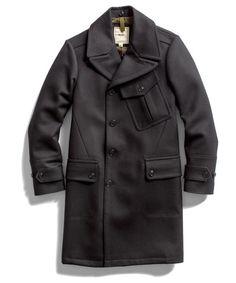 Todd Snyder Black Watchmens Coat