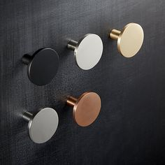 Let us give you a helping hand(le) with kitchen cabinet hardware. Shop modern knobs, handles and drawer pulls in marble, copper and more. Cupboard Knobs, Kitchen Cabinet Hardware, Diy Kitchen Cabinets, Modern Cabinets, Kitchen Handles, Drawer Knobs, Kitchen Furniture, Furniture Stores, Kitchen Knobs And Pulls