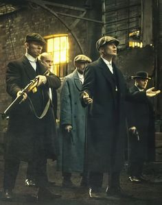 Peaky Blinders- I love the way they dress in this show.