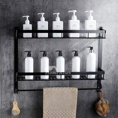 Exquisite Wall Mount Rectangular Shaped Bathroom Towel Shelf Bathroom Shelves For Towels, Towel Shelf, Shower Shelves, Wall Mounted Shelves, Wooden Shelves, Glass Shelves, Wooden Bathroom Vanity, Marble Shelf, Glass Shower Enclosures