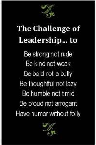 The Challenge of Leadership... Jim Rohn
