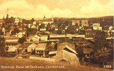 Postcard of Jackson, California, c.1914