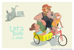 Let's ride. - Share the ride.
