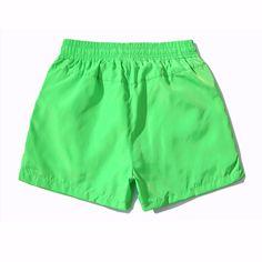https://www.i-sabuy.com/ BONJEANแฟชั่นผู้ชายฤดูร้อนกางเกงขาสั้นชายหาดหลวมสีลูกอมชายผ้าฝ้ายกางเกง