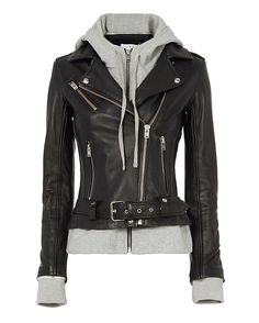 Shop the IRO Harper Combo Leather Jacket & other designer styles at IntermixOnline.com. Free shipping +$150.