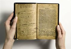 """This is """"the world's most valuable book,"""" the Bay Psalm Book, which is the first book ever printed in what is now the United States. Sotheby's, offering it Tuesday evening, Nov. 26, 2013 with a presale estimate of $15 million to $30 million, says it could set an auction record for any printed book. The book was published in Cambridge, Mass., by the Puritan leaders of the Massachusetts Bay Colony. It came just 20 years after the Pilgrims landed at Plymouth Rock."""