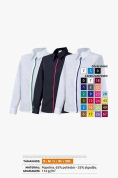 URID Merchandise -   CAMISA P539 BICOLOR   20.83 http://uridmerchandise.com/loja/camisa-p539-bicolor/