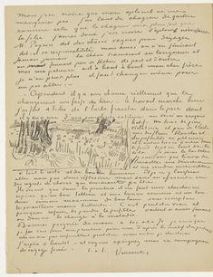 Vincent van Gogh to Theo van Gogh, Br. 1990: 869 | CL: 631, Saint-Rémy-de-Provence, Sunday, 4 May 1890, Original manuscript, Amsterdam, Van Gogh Museum