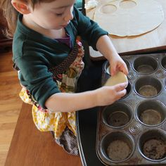 Cooking with kids.