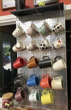 #Living Room #Garage #Kid Kindergarten ไอเดียตกแต่งผนังด้วยเพ็คบอร์ดสำหรับห้องต่างๆ Crocs, Mugs, Tableware, Home, Dinnerware, Tumblers, Tablewares, Ad Home, Mug