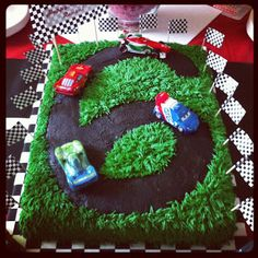 Cars cake tutorial