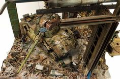 Amazing diorama from Michael Mandau, finished with quite a lot of AK-Interactive products.