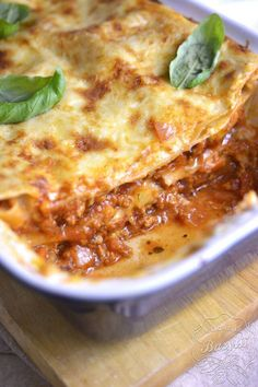 Bolognese, Macaroni And Cheese, Grilling, Cooking Recipes, Dinner, Ethnic Recipes, Food, Lasagna, Dining