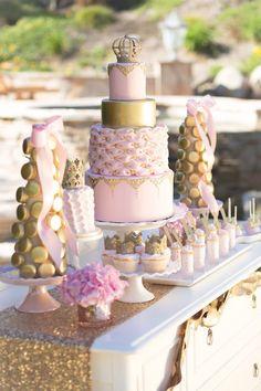 Vintage Glam Princess Birthday Party via Kara's Party Ideas | KarasPartyIdeas.com (23)