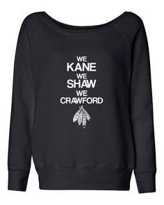 Clark Street Tees™ The Bella Wideneck Sweatshirt Awesome Fashion Styled  Sweatshirt Definition in all the. Shaw WeChicago BlackhawksRacerback ... a0e526d2b