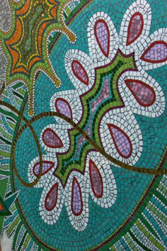 valerie theberge: mosaic artist