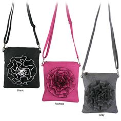 The Rose Shoulder Bag- The Breast Cancer site. Like the Fushia one.