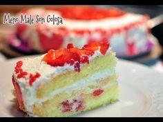 Farcitura pan di Spagna e decorazione torta - YouTube