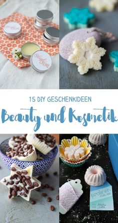 15 DIY Kosmetik Geschenkideen: Peelings, Badebomben, Bath Melts, Lotions Bars…