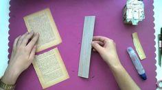tutorial caja para llaves scrap Bookends, Home Decor, Paper Strips, Paper Envelopes, Tutorials, Crates, Cards, Decoration Home, Room Decor