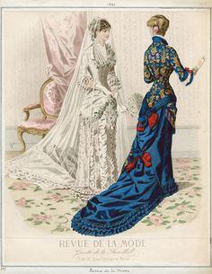 1880 Revue de la Mode