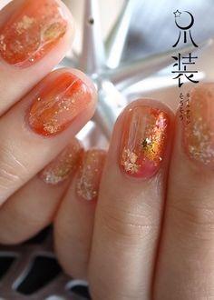樹氷@暖色 の画像|nail salon sou-sou