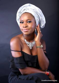 Nigerian woman and proud