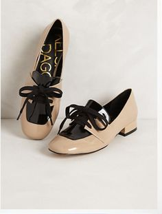 patent leather heeled oxford from anthropologie