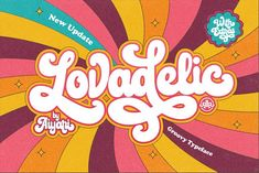 Lovadelic + Extras by Aiyari on @creativemarket