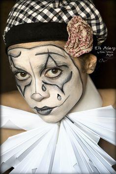 mime clowns | Sad Clown/Mime Show Makeup