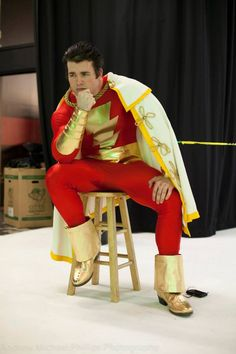 #Cosplay #Shazam: Captain Marvel