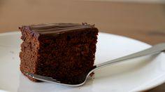 Ciasto czekoladowe, zwane murzynkiem