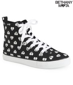 Mota Icon Canvas High-Top Sneaker from Bethany Mota Collection Aeropostale
