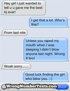Wrong Number Texts - | - Auto Correct Text Fails