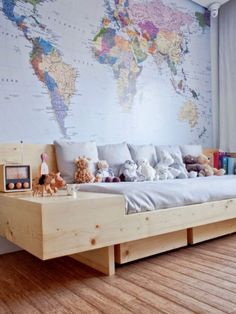 Need this wall map for declans room! DECOR IDEA FOR DR. SEUSS QUOTE