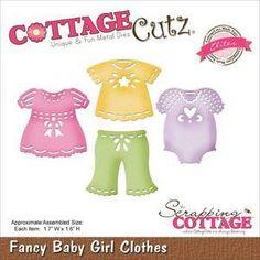 Cottage Cutz Elites Wykrojnik - Ubranka dziewczynki