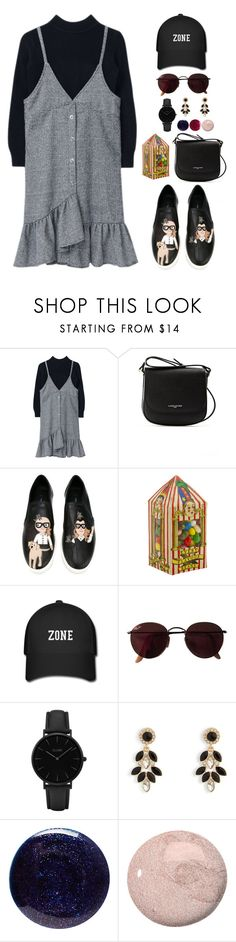 """""""Hoshi X Universal Studios"""" by jleeoutfitters ❤ liked on Polyvore featuring Lancaster, Dolce&Gabbana, Ray-Ban, CLUSE, Vera Bradley, Lauren B. Beauty and OPI"""