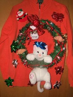 http://www.bing.com/images/search?q=ugly christmas sweaters DIY