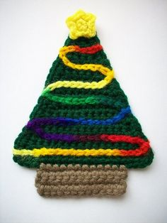 2014 diy Christmas tree crochet crafts - Fashion Blog