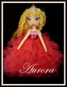 OOAK Art Doll by Ring A Rosie https://www.facebook.com/RingRosie?ref=hl Princess Aurora