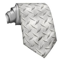Shop Diamond Plate 1 Tie created by Ronspassionfordesign. Custom Ties, Unique Image, Night Out, Plate, Diamond, Prints, Design, Dishes, Plates