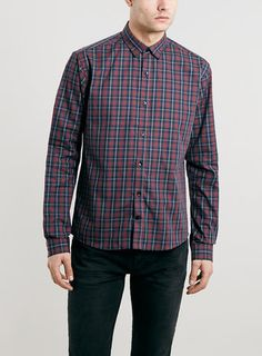Selected Homme Navy Long Sleeve Shirt