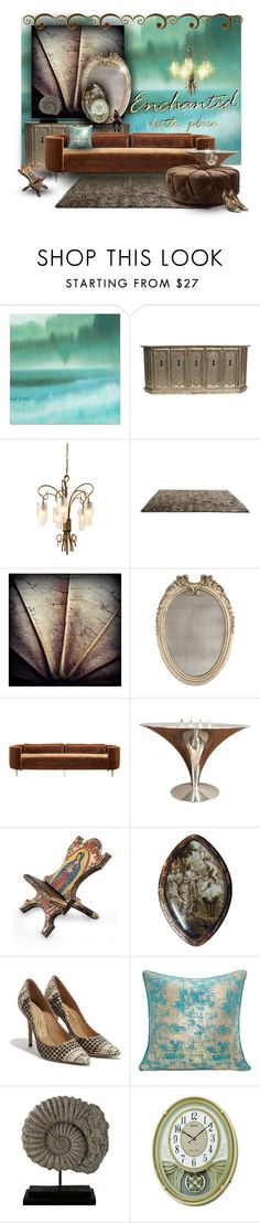"""""""Enchanted"""" by jesking ❤ liked on Polyvore featuring interior, interiors, interior design, home, home decor, interior decorating, Varaluz, Linie Design, Bliss Studio and E + J"""