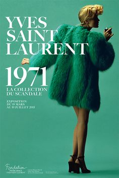 Yves Saint Laurent 1971: la collection du scandale